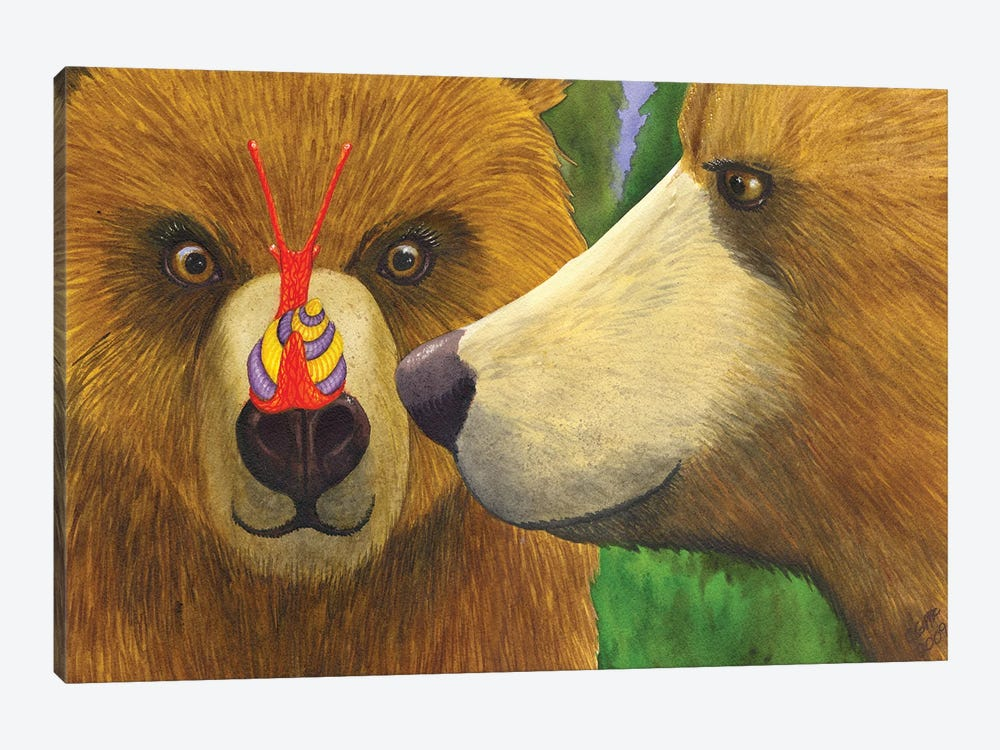 My What Big Eyes You Have! by Catherine G McElroy 1-piece Art Print