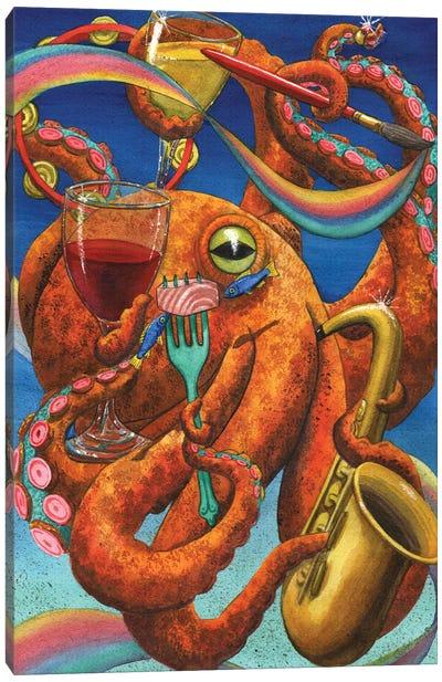 Art Partypuss Canvas Art Print