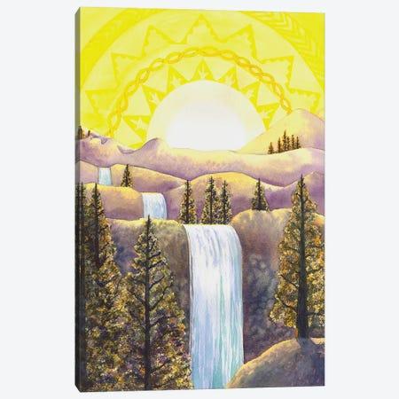 Solar Plexus Chakra Canvas Print #CGM92} by Catherine G McElroy Canvas Art