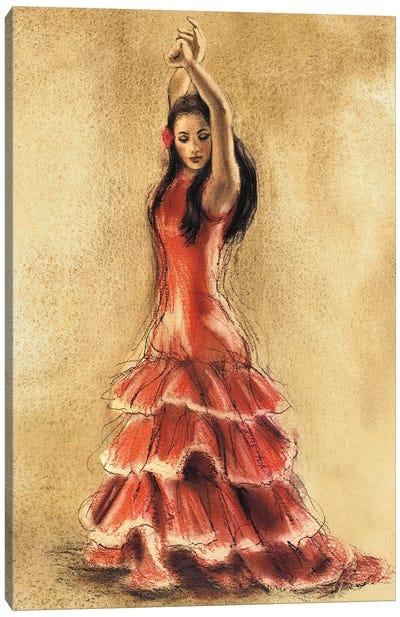 Flamenco Dancer I Canvas Art Print