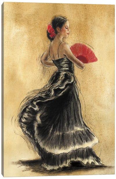 Flamenco Dancer II Canvas Art Print