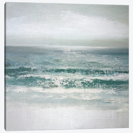 Waves Canvas Print #CGO17} by Caroline Gold Canvas Print