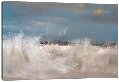 Wild Sea Canvas Art Print