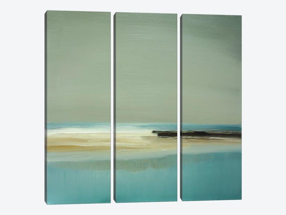 Lagoon by Caroline Gold 3-piece Canvas Art Print