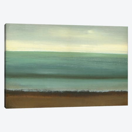 Calm Sea Canvas Print #CGO4} by Caroline Gold Canvas Artwork