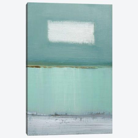 Azure Blue I Canvas Print #CGO5} by Caroline Gold Canvas Art