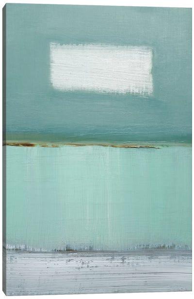 Azure Blue I Canvas Art Print