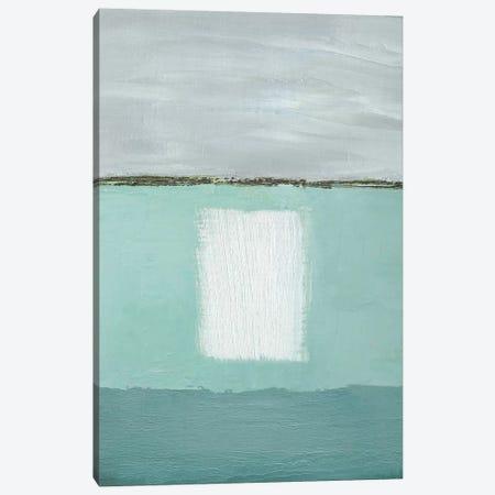 Azure Blue II Canvas Print #CGO6} by Caroline Gold Canvas Art
