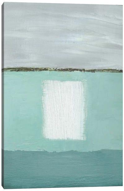 Azure Blue II Canvas Art Print