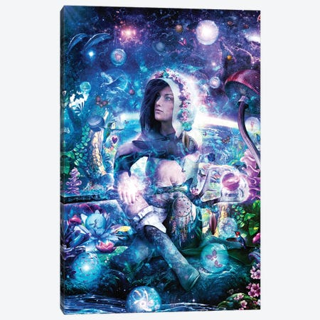 Observing Our Celestial Synergy Canvas Print #CGR12} by Cameron Gray Art Print