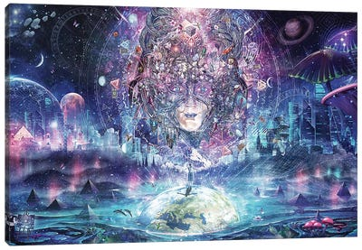 Quest For The Peak Experience Canvas Art Print