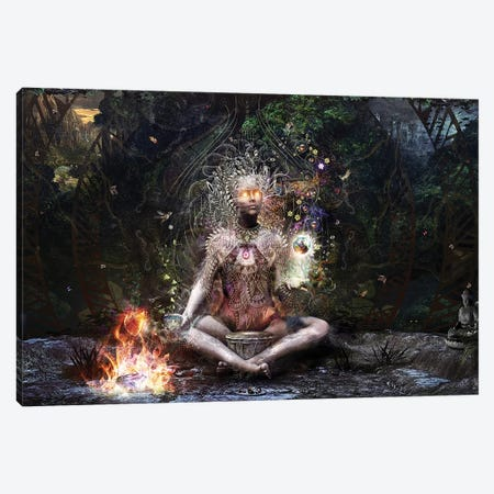 Sacrament For The Sacred Dreamers Canvas Print #CGR16} by Cameron Gray Canvas Artwork