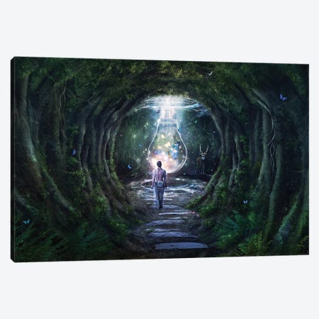 Stay For A Moment Canvas Print #CGR19} by Cameron Gray Canvas Print