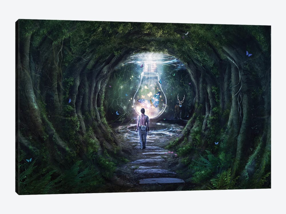Stay For A Moment by Cameron Gray 1-piece Canvas Art Print