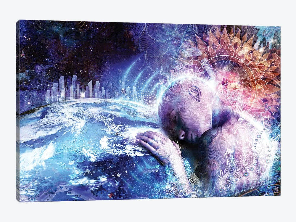 A Prayer For The Earth by Cameron Gray 1-piece Canvas Art Print