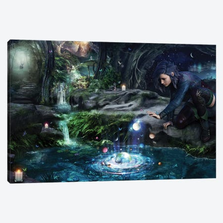The Collector Canvas Print #CGR20} by Cameron Gray Canvas Wall Art