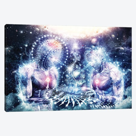 The Knowledge Of The Planets Canvas Print #CGR22} by Cameron Gray Canvas Wall Art