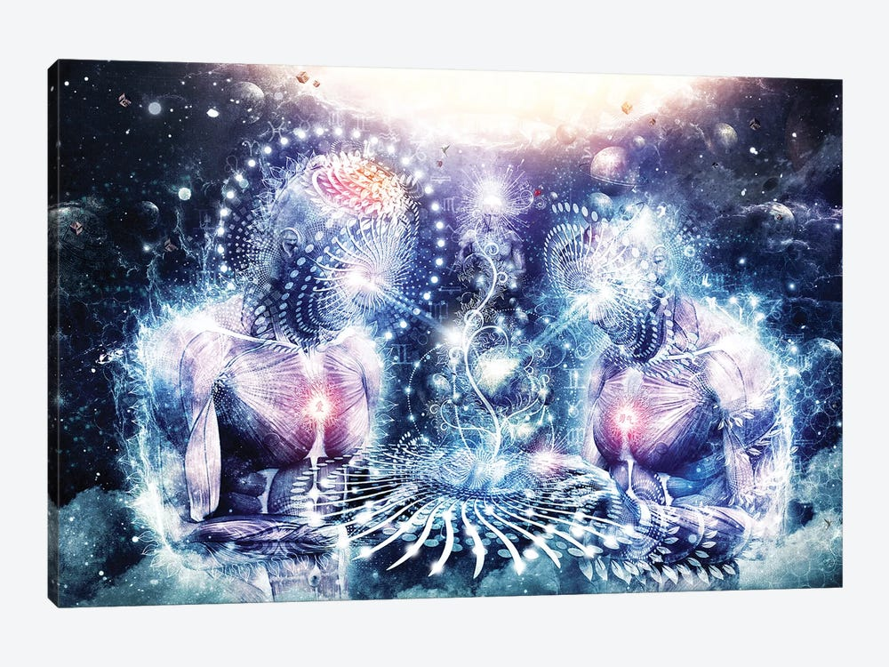 The Knowledge Of The Planets by Cameron Gray 1-piece Canvas Art Print
