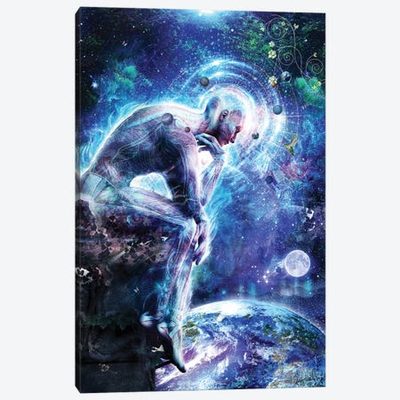 The Mystery Of Ourselves Canvas Print #CGR23} by Cameron Gray Canvas Art