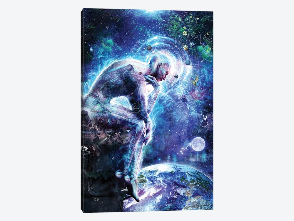 The Mystery Of Ourselves by Cameron Gray 1-piece Canvas Wall Art