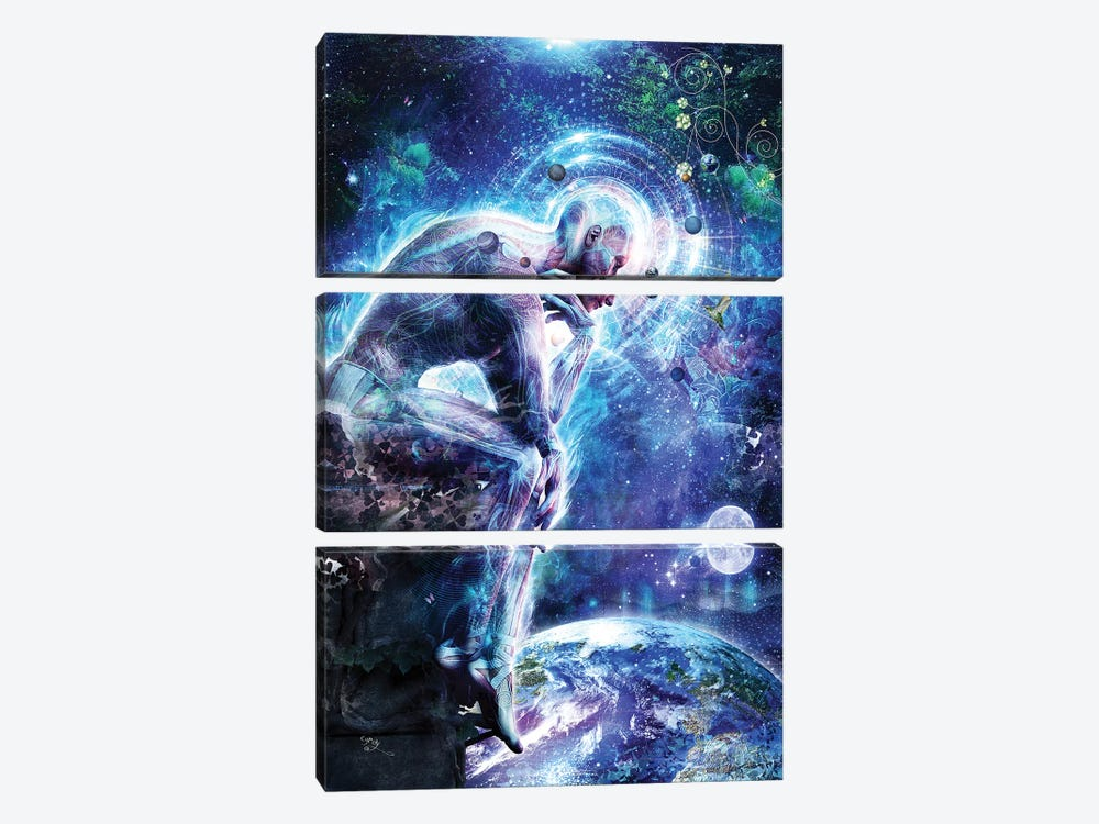 The Mystery Of Ourselves by Cameron Gray 3-piece Canvas Art