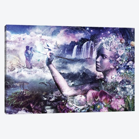The Painter Canvas Print #CGR25} by Cameron Gray Canvas Print