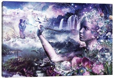 The Painter Canvas Art Print