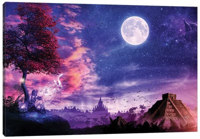 A Place For Fairy Tales Canvas Art Print