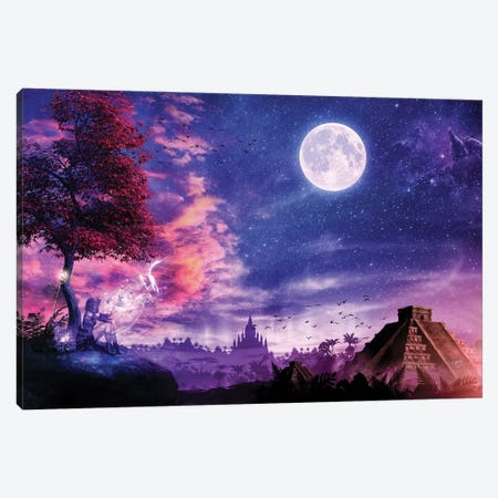 A Place For Fairy Tales Canvas Print #CGR29} by Cameron Gray Canvas Artwork