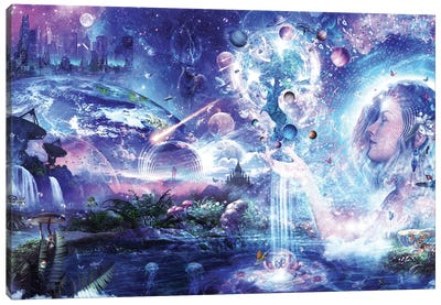 Dancing Dreams Canvas Art Print