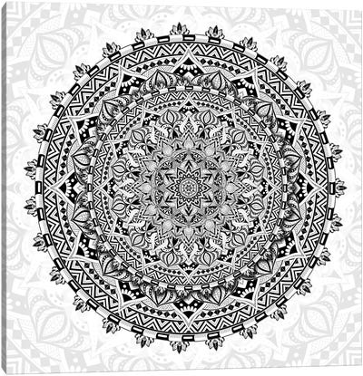 Mandala Love Canvas Art Print