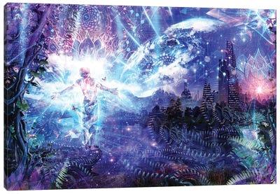 Ritual Night Stars Canvas Art Print