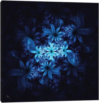 Luminous Flowers Canvas Art Print