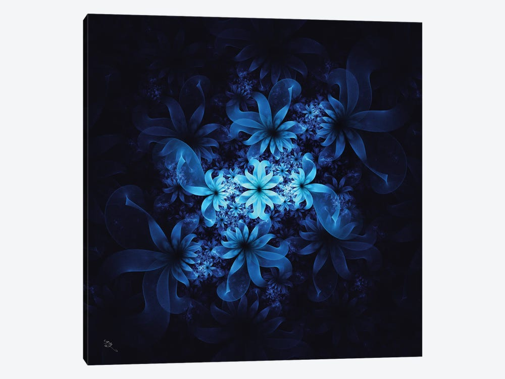 Luminous Flowers by Cameron Gray 1-piece Canvas Wall Art
