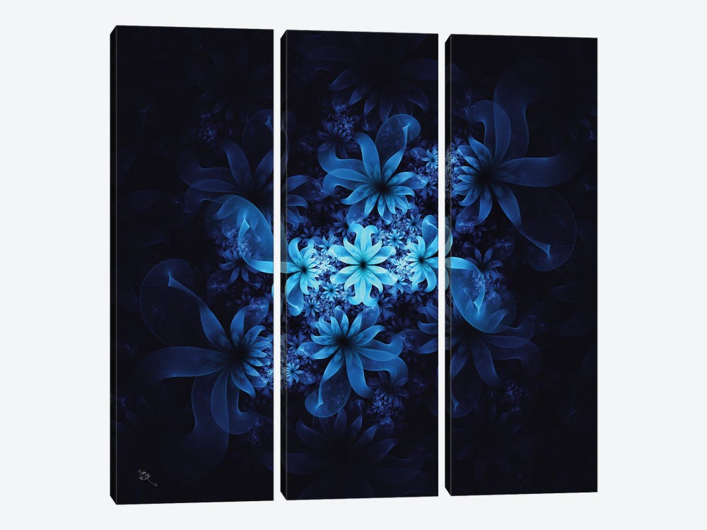 Luminous Flowers by Cameron Gray 3-piece Canvas Art