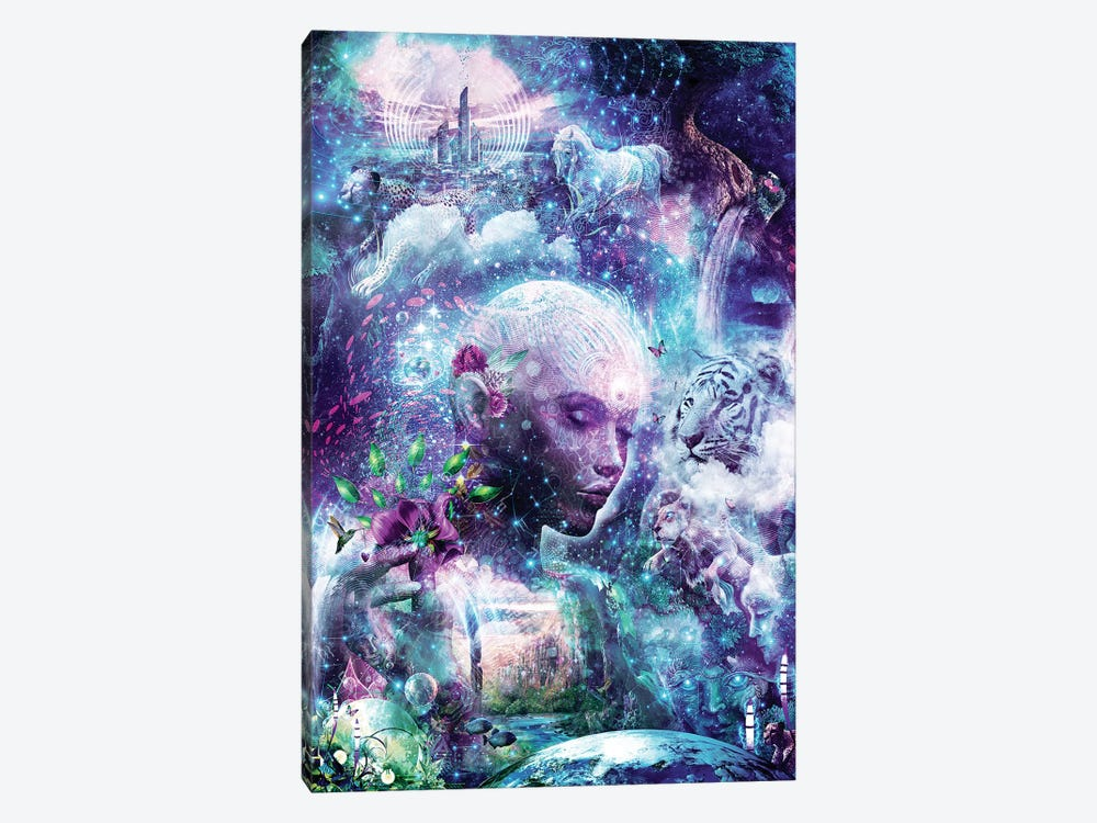 Discovering The Cosmic Consciousness by Cameron Gray 1-piece Art Print