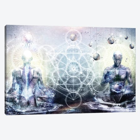 Experience So Lucid Discovery So Clear Canvas Print #CGR9} by Cameron Gray Canvas Print