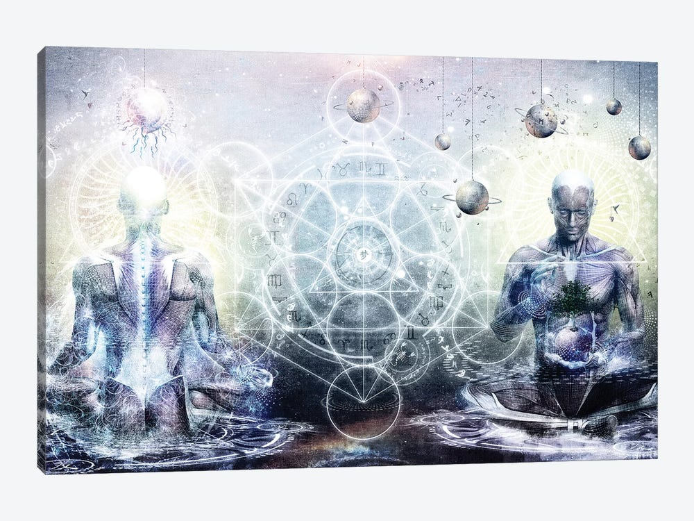 Experience So Lucid Discovery So Clear by Cameron Gray 1-piece Canvas Print