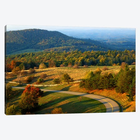 Mountain Landscape I, Blue Ridge Parkway, Patrick County, Virginia, USA Canvas Print #CGU2} by Charles Gurche Canvas Artwork