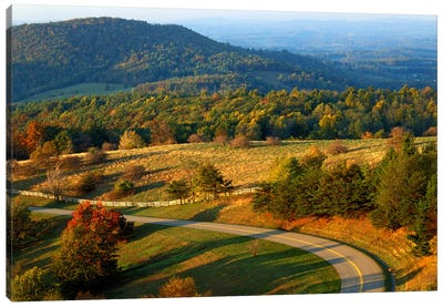 Mountain Landscape I, Blue Ridge Parkway, Patrick County, Virginia, USA Canvas Art Print