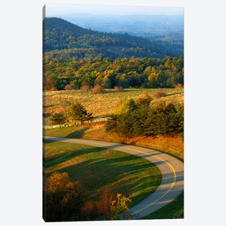 Mountain Landscape II, Blue Ridge Parkway, Patrick County, Virginia, USA Canvas Print #CGU3} by Charles Gurche Canvas Art