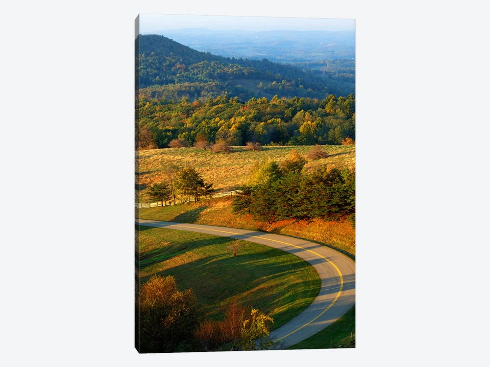 Mountain Landscape II, Blue Ridge Parkway, Patrick County, Virginia, USA by Charles Gurche 1-piece Canvas Art