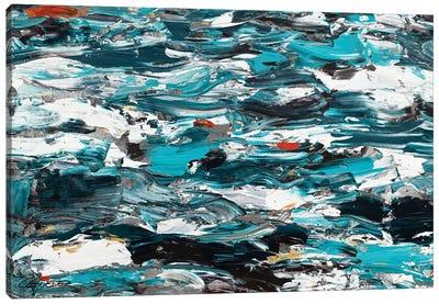Aquamarine Adventure Canvas Art Print