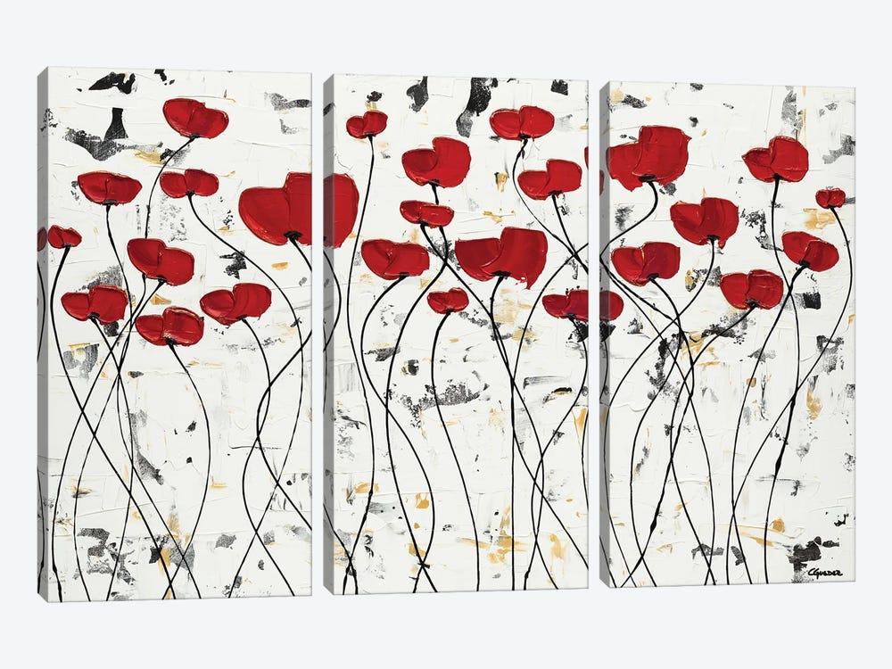 Garden of Hope by Carmen Guedez 3-piece Art Print