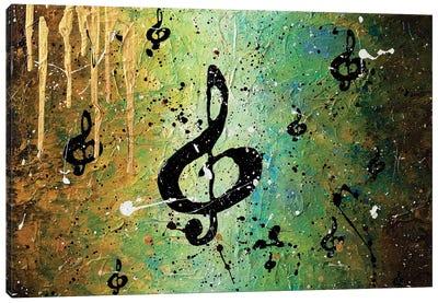 Cosmic Jam Canvas Art Print
