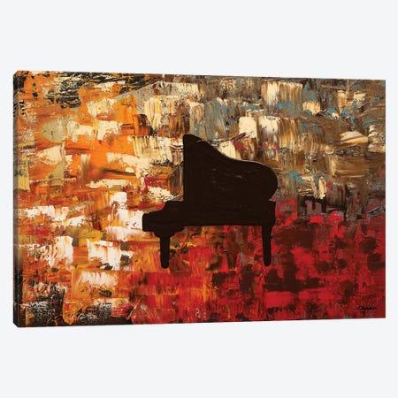 Grand Piano Canvas Print #CGZ24} by Carmen Guedez Art Print