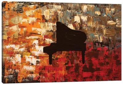 Grand Piano Canvas Art Print