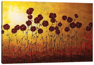Autumn Valley Canvas Art Print