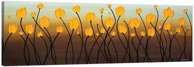 Dancing Tulips Canvas Art Print