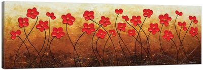 Flores De Mi Jardin Canvas Art Print